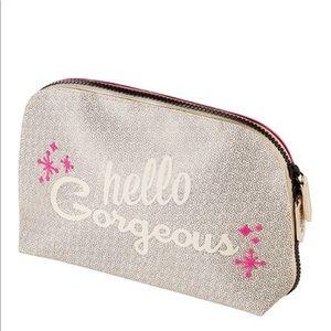 "Benefit ""Hello Gorgeous"" Makeup Bag"